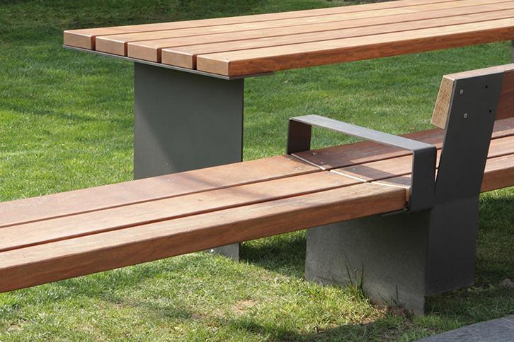 Santa Amp Cole Bancal Robust Outdoor Bench All Urban