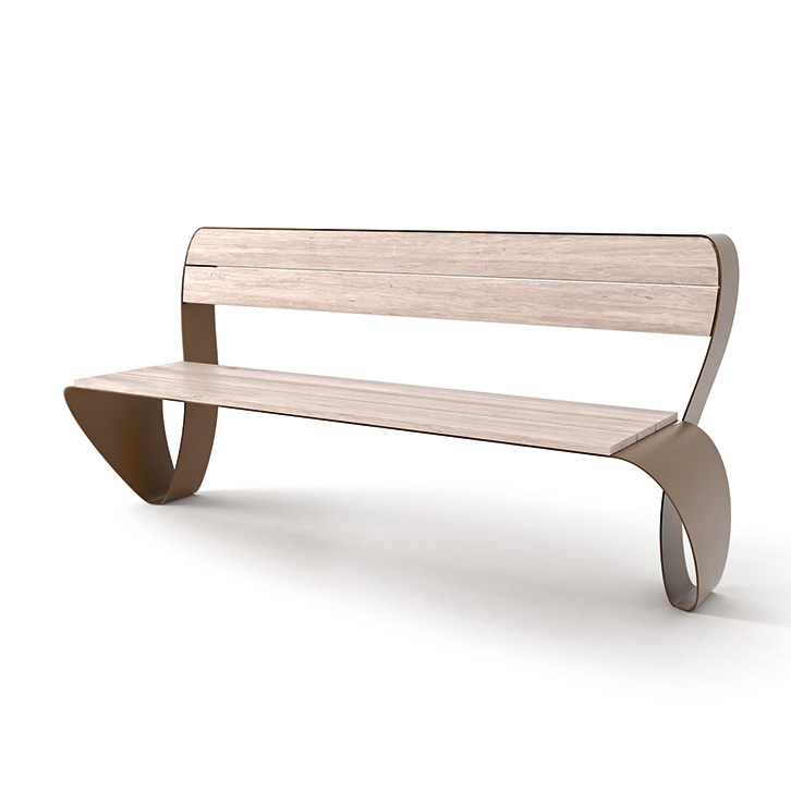 Fluxus Bench by LAB23