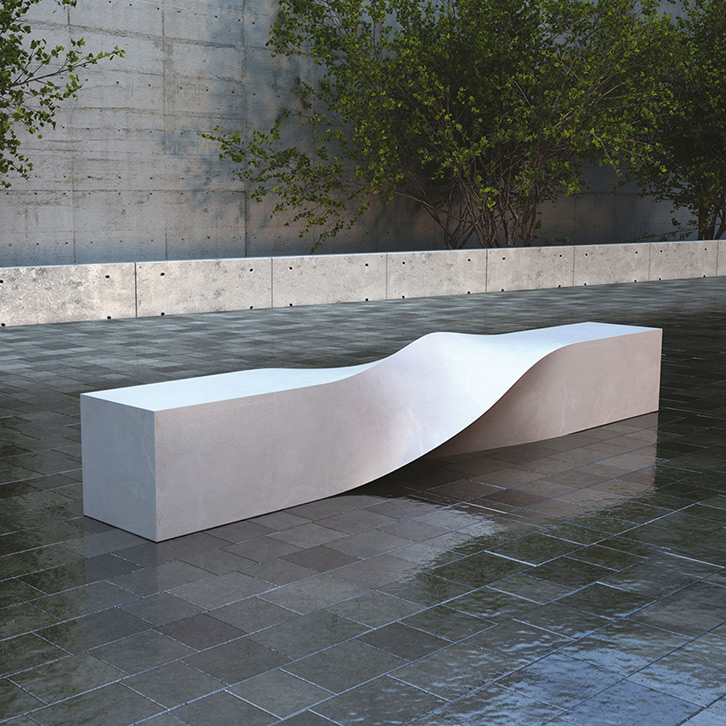 S Bench by LAB23
