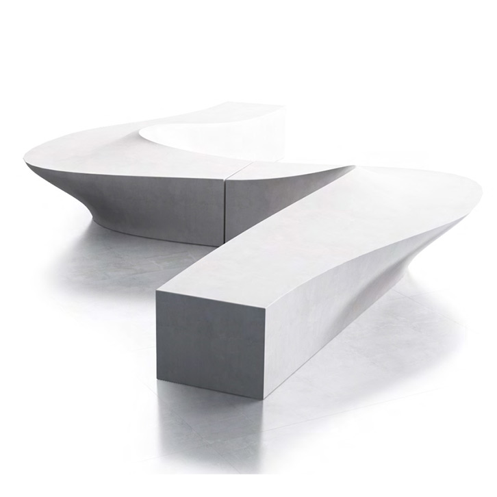 Wave Bench by LAB23